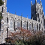 The chapel at Duke in NC
