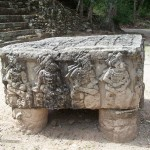 One of the altars at Copán