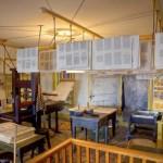 The interior of E. B. Grandin's printing establishment