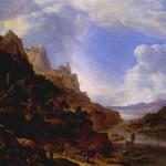 "Salftleven, ""Rhineland Fantasy View"" (probably Dutch?)"