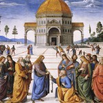 Perugino's Delivery of the Keys