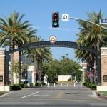 Schmid Gate, at Chapman University