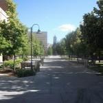 USU campus scene