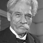 Albert Schweitzer in his later years