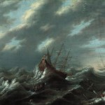 An early seventeenth-century storm at sea