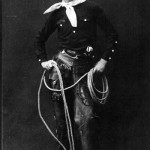 Will Rogers with lasso, etc.