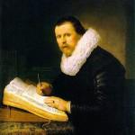 Rembrandt's portrait of a scholar