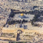 Dome of the Rock, etc. from above