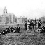 A photo of Cornell during A. D. White's time