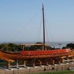 Hugin ashore