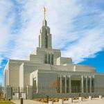 Temple in Draper, Utah