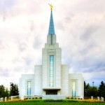 The temple in Langley