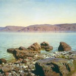 Sea of Galilee, by Polenov
