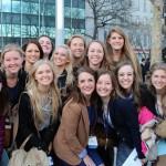 BYU's Model UN delegation 2015 (the women)
