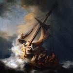 Rembrandt Galilee storm