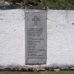 Monument at Flossenbürg to Bonhoeffer, et al.