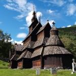 Borgund's twelfth century stave church