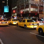 Cabs in New York