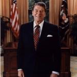 Official 1985 portrait of RR