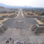 From the Pirámide de la Luna
