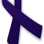 Indigo awareness ribbon