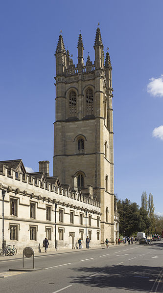 High Street and Magdalen Tower