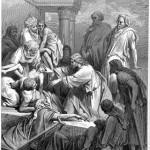 Dore, Jesus healing