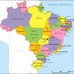 A political map of Brazil