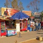 Shops near the ruins of Petra