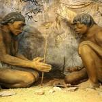 Two cavemen