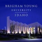 BYU Idaho by night