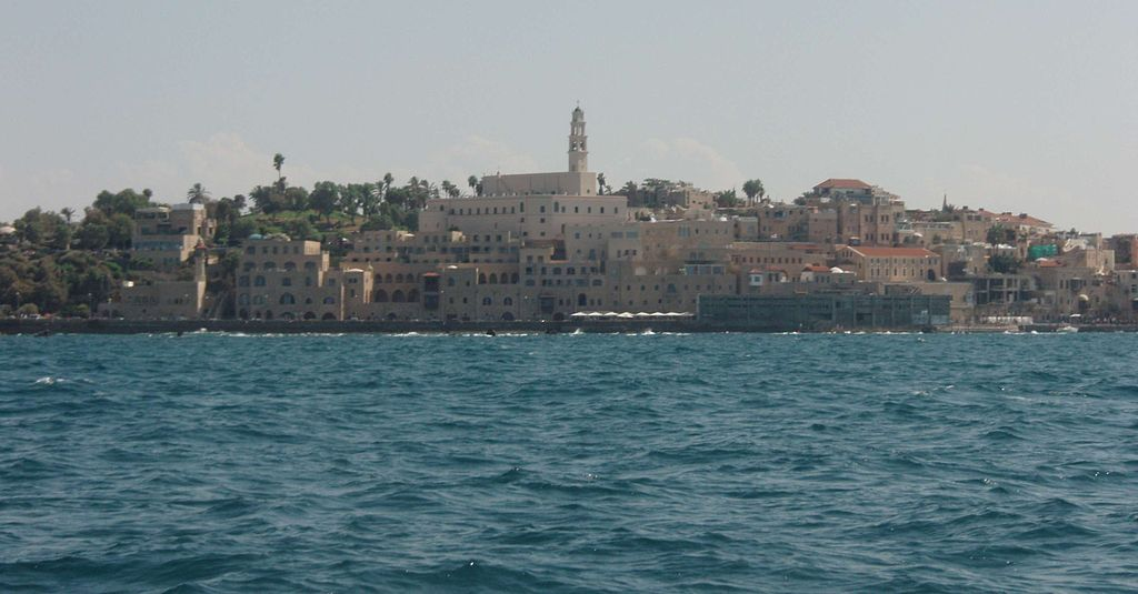 Yafo from the sea