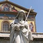 St. Paul, statue in Rome