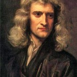 Newton portrait