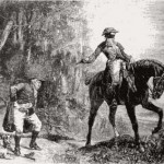 A highwayman robs somebody.