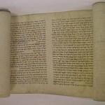 Eine biblische Schriftrolle
