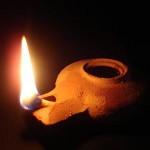 Ancient Israelite lamp