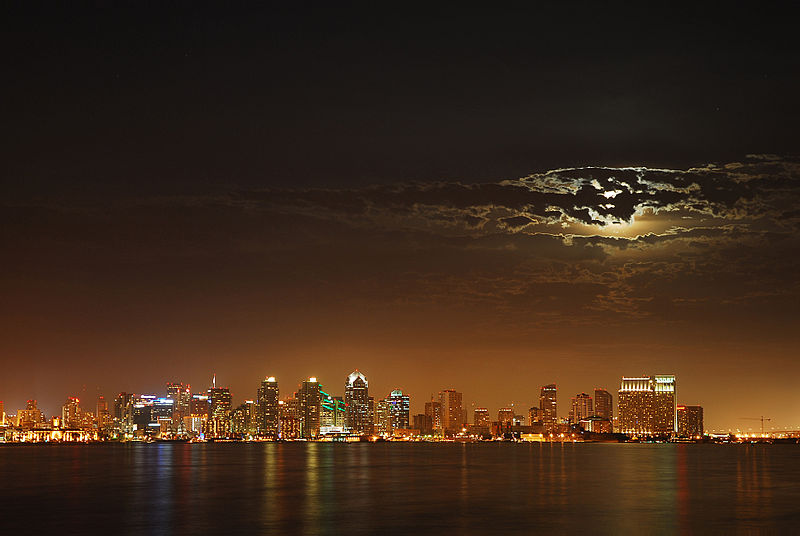 San Diego im Mondlicht