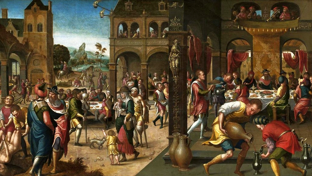 an analysis of the parable of the feast in the bible