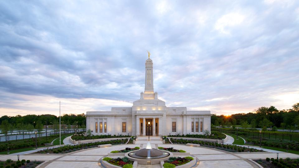 First temple in Indiana