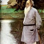 Tolstoy portrait, 1907