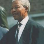 1993 photo of Nelson Mandela