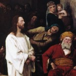 "Detail of ""Christ before Pilate"""