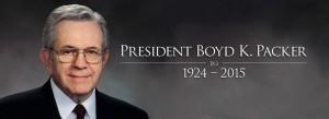 President Boyd K. Packer dead at ninety