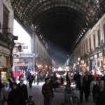 The suq in the Damascus Old City