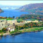 West Point, from the air
