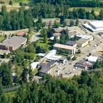 TWU campus in Fraser Valley, BC