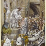 Tissot Christ with disciples