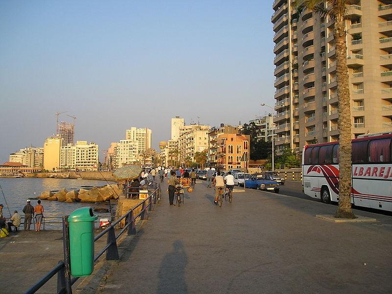 In modern Beirut