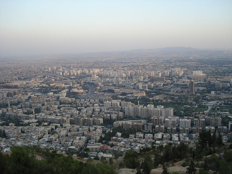 Damascus from Mount Qasyun